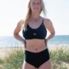 KUST of Sweden nytt badmodemärke satsar på passform och miljö återvunnet material swimwear bikinis SAGA & LUNAbikinis badkläder