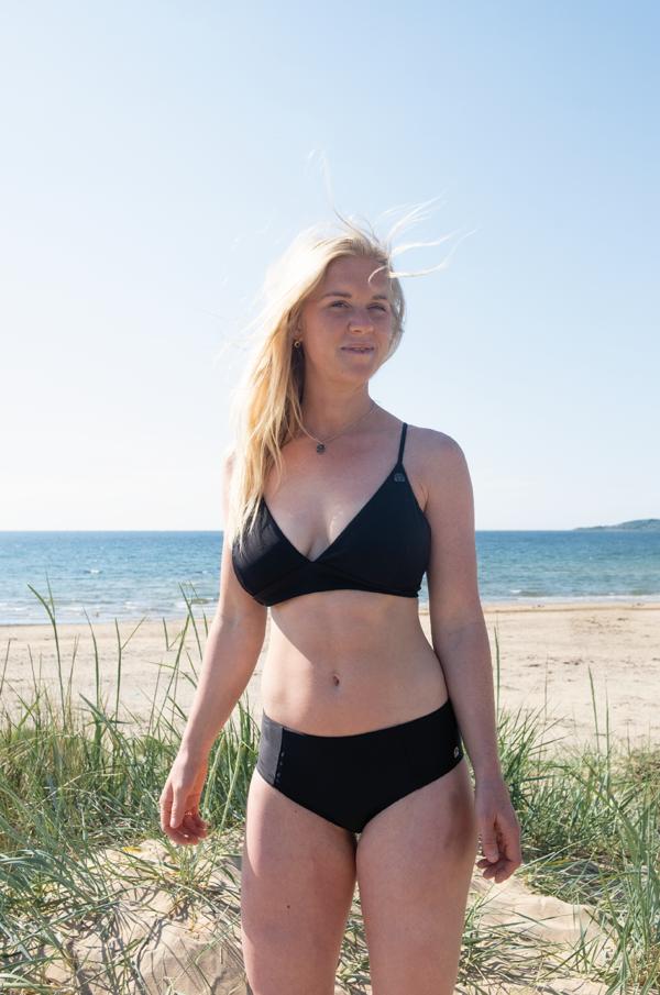 KUST of Sweden nytt badmodemärke satsar på passform och miljö återvunnet material swimwear bikinis swimsuit baddräkt badkläder